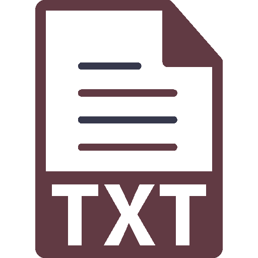file icon for text files